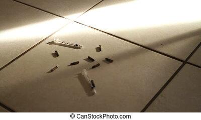 Drug related violence blood drips - Drug related violence...