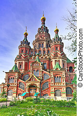 Church of St. Peter and Paul Church, Peterhof, Saint...