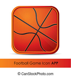 Icon for application of sports or games