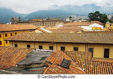 View of La Candelaria, Bogota