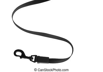 dog leash - object on white tool dog lead