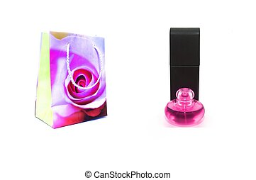 Gift - photo of the Gift on white background