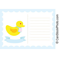 Little Chick New Born - A template of little chick, display...