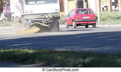 street sweeper machine