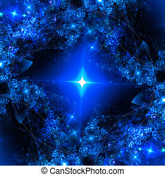 Abstract art star backdrop (wallpaper). - Abstract art star...