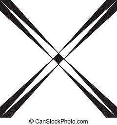 Abstract cross spins