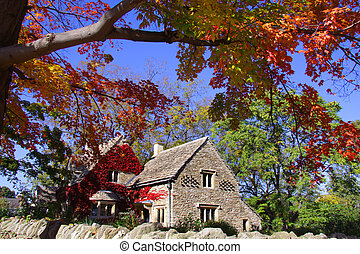 Cotswold cottage - Historic Cotswold cottage in Greenfield...