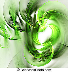 Colour abstract art background - Abstract colour art...