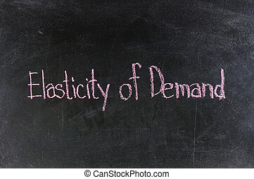Background concept wordcloud illustration of price elasticity of demand .