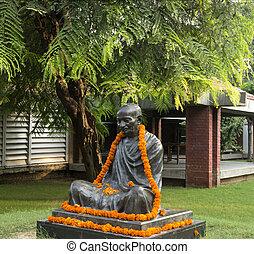 Mahatma,  Gandhi, statua
