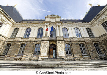 Rennes Ille-et-Vilaine, Brittany, France - Ancient Palace of...