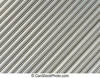 Corrugated metal pattern - Pattern of corrugated metal...