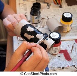 artesanía, trabajo
