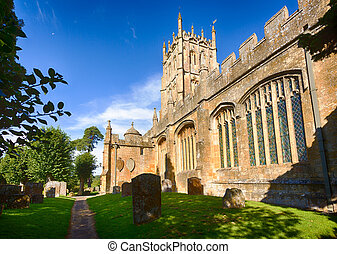 Church and graveyard in Chipping Campden - St James Church...
