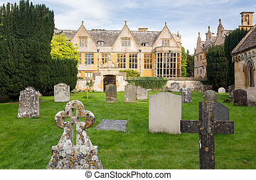 Stanway House and St Peters Church Stanton - Stanway House...