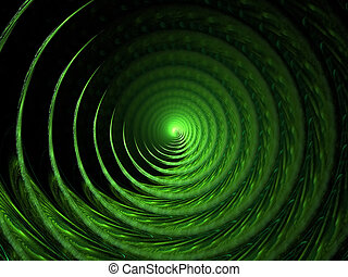 Colour abstract art background spiral. - Colour abstract art...