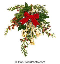 Christmas Decoration - Christmas decorative spray of...