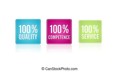 Services Guarantee - Animated Services Guarantee Icons