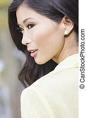 Beautiful Chinese Oriental Asian Woman