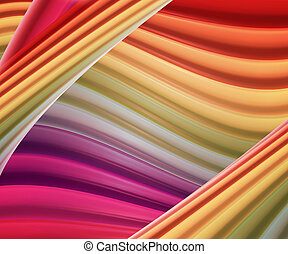 Hot Colorful Abstract Background