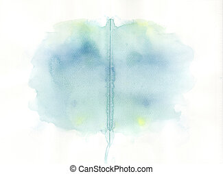 abstract water colour painted background