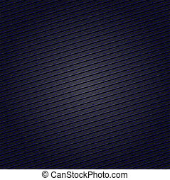 Striped fabric surface for dark blue background, 10eps