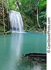 Erawan Waterfall level 3, Kanchanaburi province, Thailand