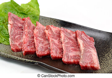 Yakiniku, Japanese beef - This ia a picture of Japanese...
