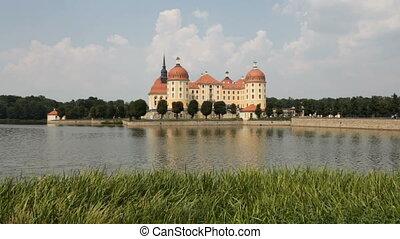 Moritzburg Castle, Germany - Moritzburg Castle near Dresden,...