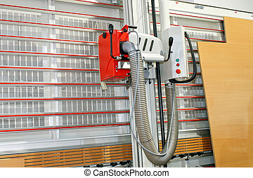 Wood cutter - Vertical planer for cutting wood and veneer...