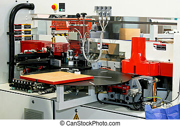Woodworking veneer - Automatic woodworking machine for...