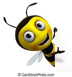 かわいい, 蜂