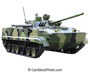 Militaru technics - tank Isolated - Militaru technics- tank...