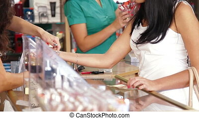 Female Customers Shopping