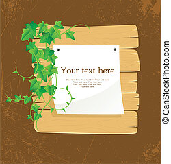 Ivy back - Vector illustration of Ivy back