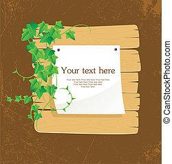 Ivy back - Vector illustration of Ivy back