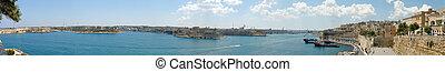 Three Cities Panorama - 220 degree panorama of the Three...