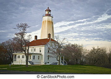 Sandy Hook Lighthouse - The historic Sandy Hook Lighthouse...