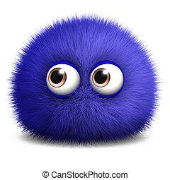 furry ball