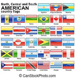 旗, 網, ボタン