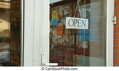 We Are Closed, Going Out Of Busines - Business owner puts up...