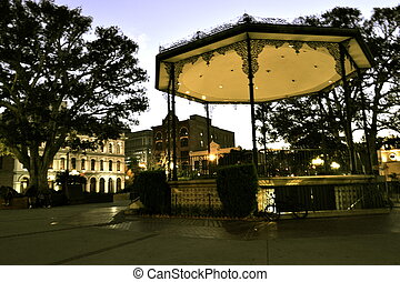 Olvera Street Band Stand - Olvera Street is in the oldest...