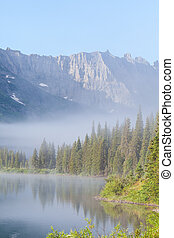 Lake in Glacier Park