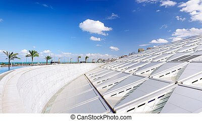 Royal Library of Alexandria , Egypt Panorama - Library of...