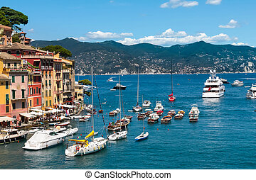 Portofino village, Ligurian Coast, Italy - Summer vacation...