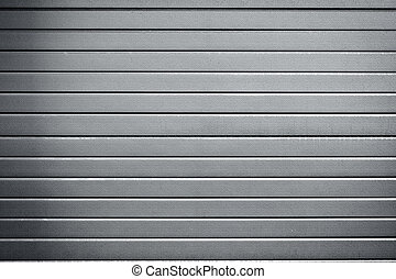 industrial metal door background with dark corners