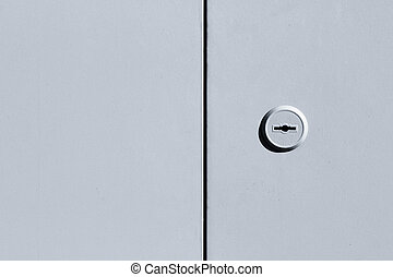 Metal black and white door background