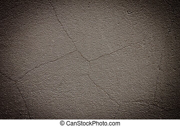 Vintage grey painted plaster wall background