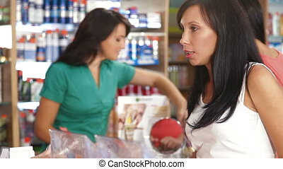 Women Shopping for Beauty Care