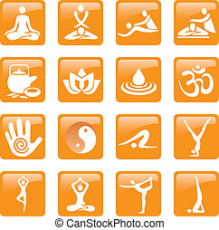 Icons_yoga_spa_massage - Set of yoga massage and spa icons....